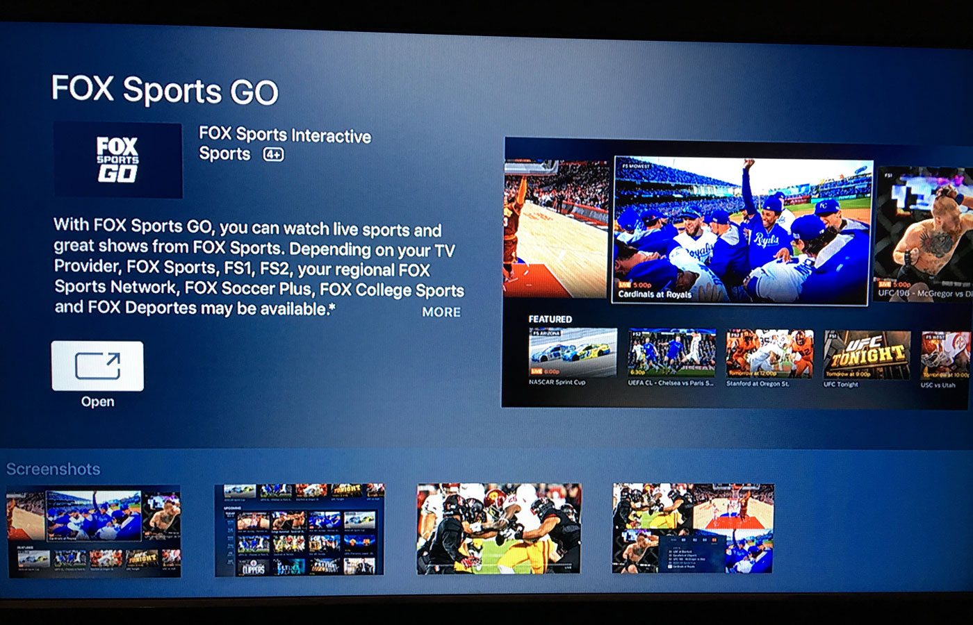 How To Get Fox Sports Go On Apple TV 11