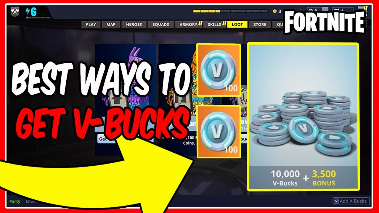 How To Get V Bucks For Free 8