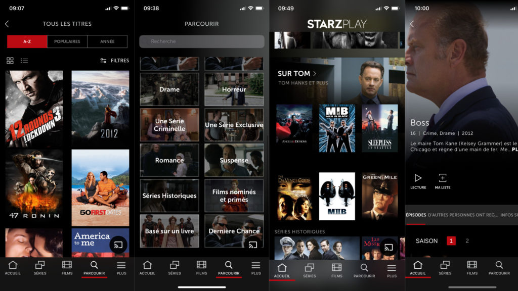 STARZ To Release Streaming App Internationally In 2020