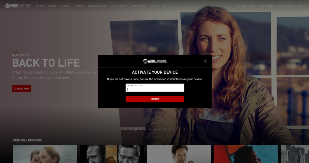 How To Activate Showtime Anytime Via Showtime Com Activate