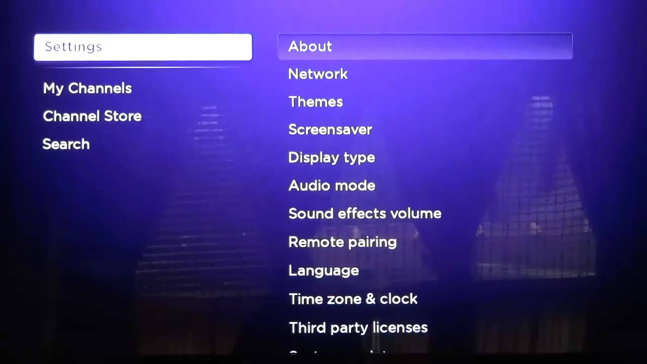 how to find roku mac address
