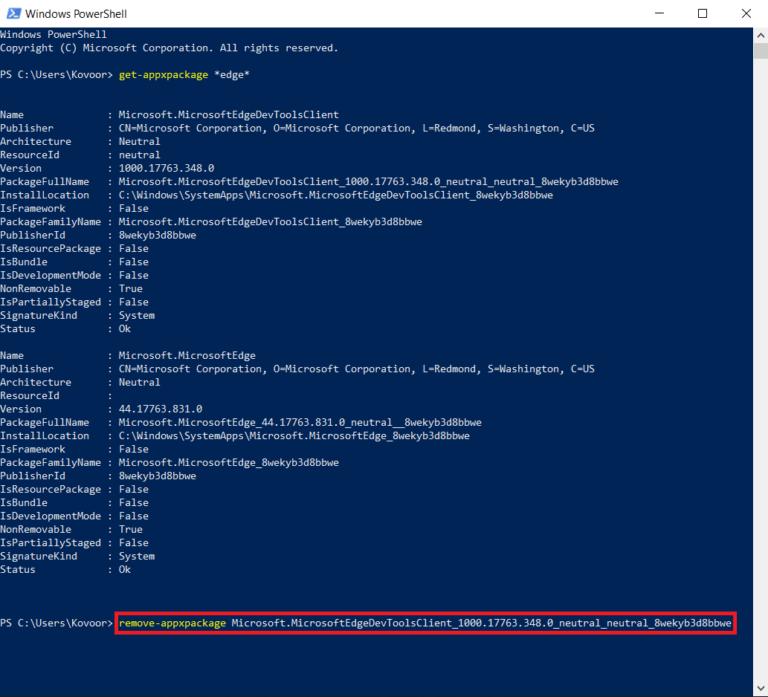 How To Uninstall Microsoft Edge? 2